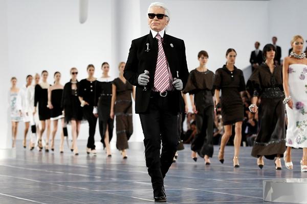 Karl Lagerfeld. Foto: Reuters