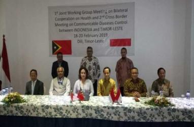 Indonesia & Timor Leste Sepakat Perkuat Kerja Sama Kesehatan di Perbatasan