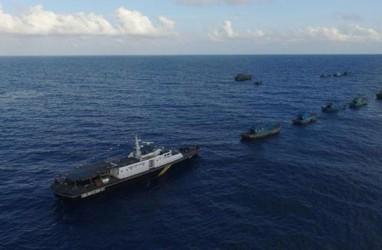Kejar Kapal Asing, Hiu Macan 01 Diintimidasi Kapal Pengawas Vietnam