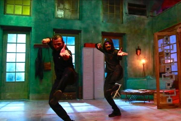 Cuplikan salah satu scene teaser Film Gatotkaca