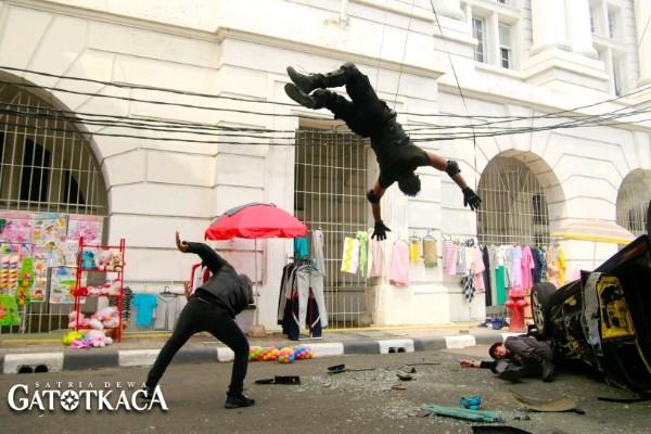 Salah satu cuplikan teaser film Gatotkaca - Istimewa