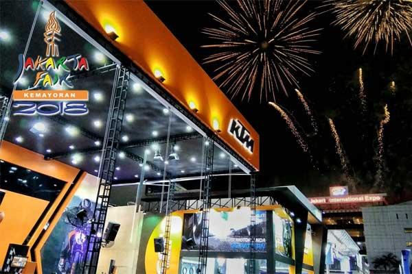 KTM Indonesia hadir di Jakarta Fair 2018. - KTM