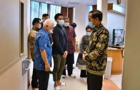 Jokowi Sebut Kondisi Kesehatan Ani Yudhono Semakin Membaik