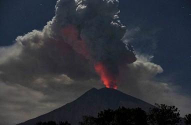 Gunung Agung Erupsi Dua Kali, Status Tetap Level III Atau Siaga
