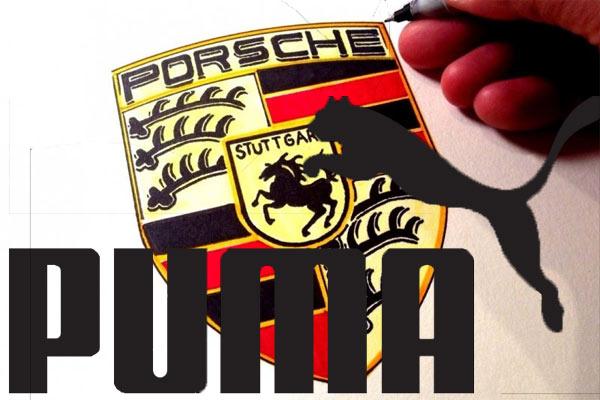 Logo Porsche dan logo Puma. - Youtube/Puma