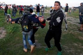 Seorang Tewas dan 40 Terluka Ditembak Israel saat…