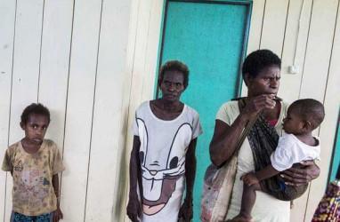 Bantu Penanggulangan Gizi Buruk di Papua, Wijaya Karya Bangun Jembatan Gantung
