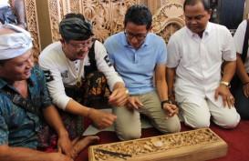 Bagi-Bagi Obat Masuk Angin di Gianyar, Sandi: Ini Simbol Solusi Prabowo-Sandi untuk Rakyat
