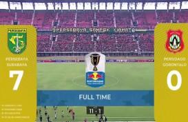 Piala Indonesia: Persebaya vs Persidago 7-0, Persebaya ke Perempat Final Aggregate 11-1. Ini Live via PSSI TV