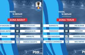 Piala Indonesia: 16 Besar Zona Barat, Persija Lolos Aggregate 4-2. Ini Videonya