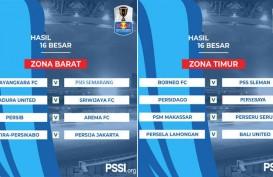 Piala Indonesia: Babak 16 Besar, Persebaya ke Perempat Final dengan Aggregate 11-1
