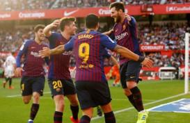 Messi Hattrick Ke-50, Barcelona Hajar Sevilla di La Liga