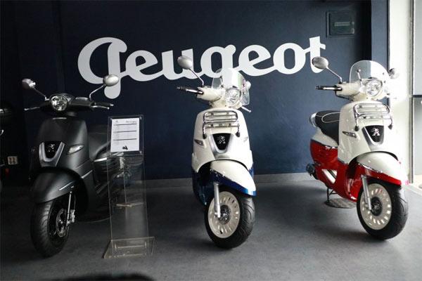 Peugeot Metropolis.  - Antara