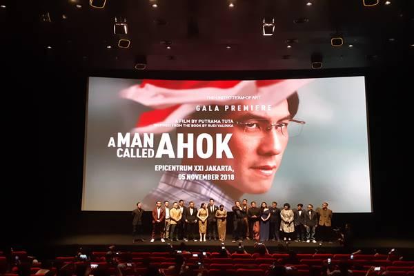 Premier film 'A Man Called Ahok'/JIBI - BISNIS/Feni Freycinetia