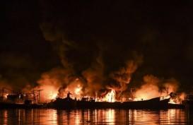 Api Sempat Muncul Lagi pada Enam Kapal di Muara Baru