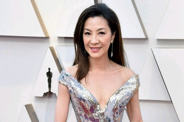 Michelle Yeoh di ajang piala Oscar 2019 - istimewa