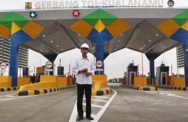 Pertaruhan Jokowi di Tol Trans Sumatra