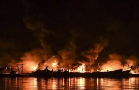 Kebakaran Muara Baru, Kapal Pemicu Api Dinaikkan Dok