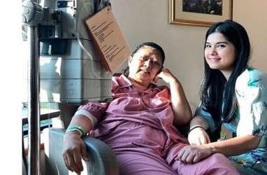 Menkes Kirim Doa dan Bunga untuk Kesembuhan Ani Yudhoyono
