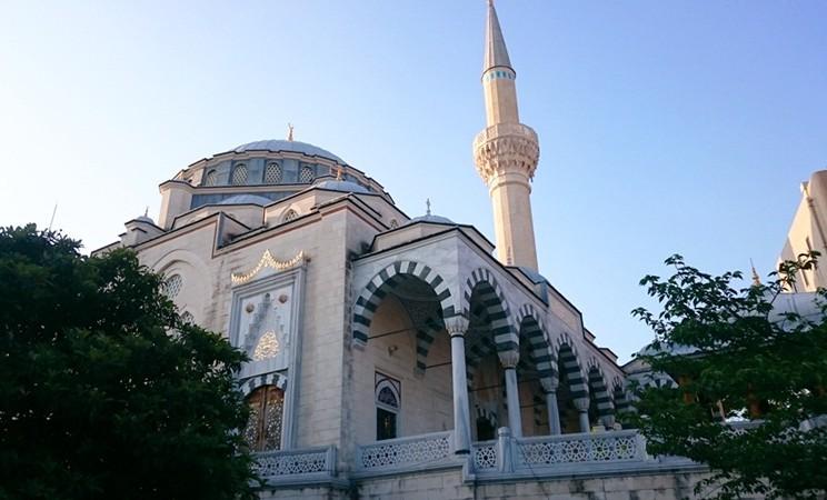 Masjid Camii di Tokyo Jepang. - Istimewa