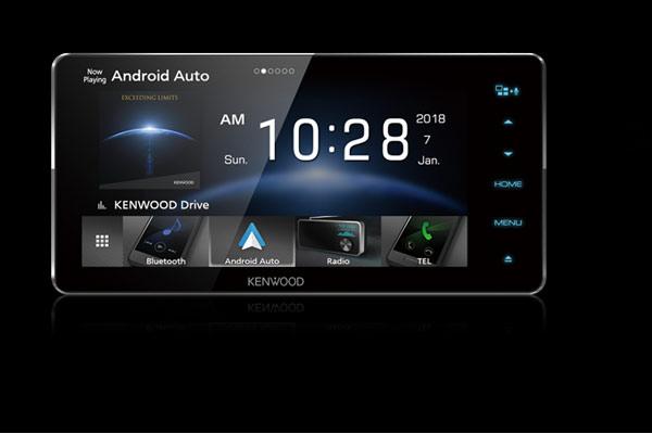 Head Unit Android merek KenWood. - Kenwood