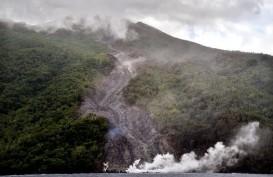 Status Gunung Karangetang Siaga Level III