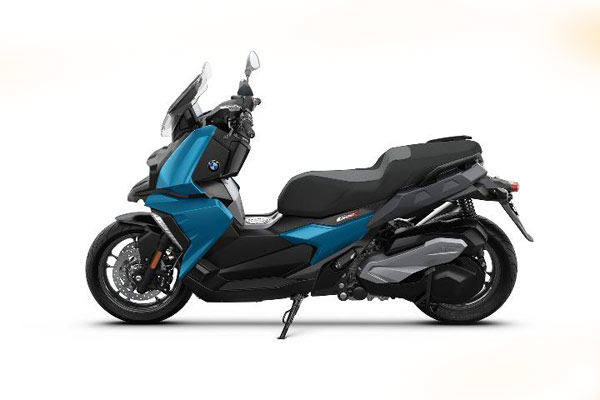 BMW C 400 X memboyong mesin satu silender berkubikasi 350 cc. - BMW