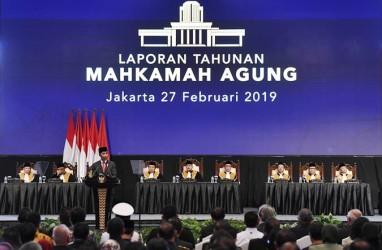 Presiden Jokowi : Terobosan MA Perkuat Kepercayaan Masyarakat Pencari Keadilan