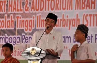 Presiden Jokowi Janji Tingkatkan Kapasitas SDM di Pondok Pesantren