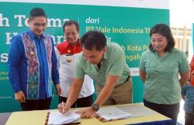 Vale Indonesia Serahkan Huntara Kepada Korban Bencana Palu