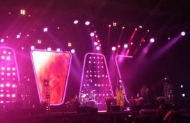 Raveena Tampil Bertabur Bunga di Panggung Special Show Jakarta Jazz Festival 2019