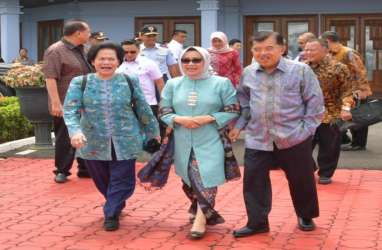 Didampingi Chairul Tanjung, Wapres Jusuf Kalla ke Singapura Jenguk Ani Yudhoyono
