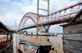 Proyek Jembatan Musi VI Resmi Terhenti Tahun Ini