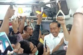 Jokowi Pulang Ke Bogor Naik KRL, Begini Kondisi Presiden…