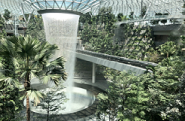 Jewel Changi Airport Bakal Dibuka 17 April 2019, Sajikan Air Terjun Menakjubkan