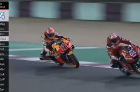 MotoGP Qatar: Ini Video Duel Sengit Andrea Dovizioso…