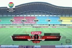Piala Presiden: Mitra Kukar vs Bhayangkara FC 1-2,…