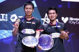 Jokowi Ucapkan Selamat bagi Hendra-Ahsan Juara All…