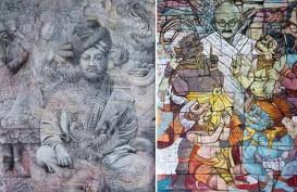 Enam Perupa Bali Gelar Pameran Seni di New Delhi