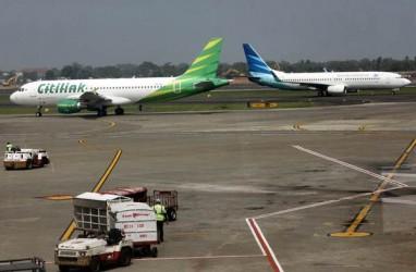 Boeing 737-8Max Dikandangkan, Saham Garuda Indonesia Merosot