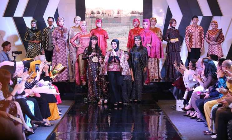 Palembang Fashion Week 2019. - Istimewa