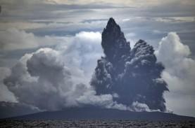 Gunung Anak Krakatau Masih dalam Status Siaga