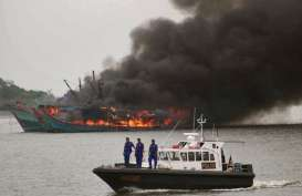 Sejak Januari, 12 Kapal Ikan Asing Ditangkap