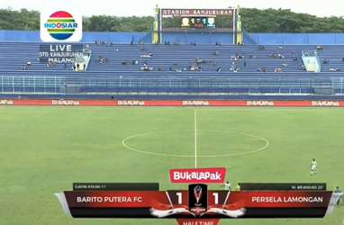 Piala Presiden: Persela vs Barito Putera 1-1, Persela Juara Grup dan ke Perempat Final. Ini Video Streamingnya