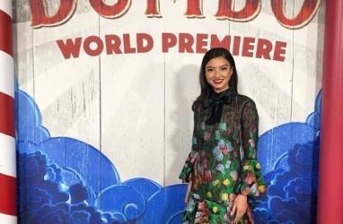Raline Shah Hadiri World Premier Disney's Dumbo di Hollywood