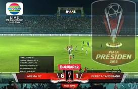 Piala Presiden: Arema FC Gilas Persita 6-1, Nasibnya Tunggu Grup B-C-D. Ini Videonya