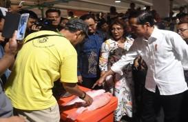 Jokowi Borong Kakap Merah 6 Kg Seharga Rp500 Ribu di Pasar Ikan Modern Muara Baru