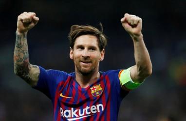 Hasil Barcelona Vs Lyon: Barca Menang 5-1, Ini Catatan Apik Rekor Messi
