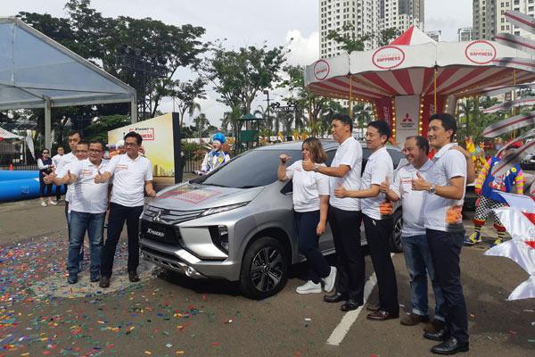 Xpander Tons of Real Happiness di gelar di Serpong, Tengarang Selatan, sebagai kota terakhir dari rangkaian 9 kota. - Bisnis.com/TOM