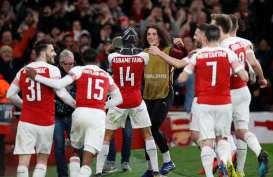Hasil Liga Europa : Inter, Sevilla Tersingkir, Arsenal Susul Chelsea ke 8 Besar